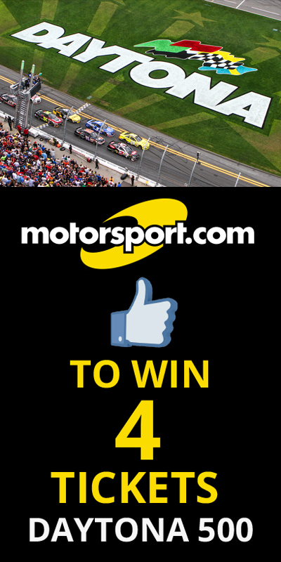 You Could WIN 4 Tickets 2 Daytona 500 - from Motorsport.com