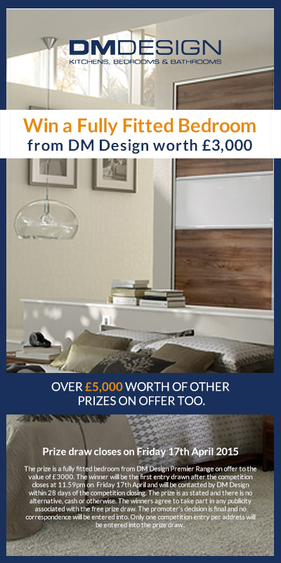 win bedroom furniture - free online competitions | dm design